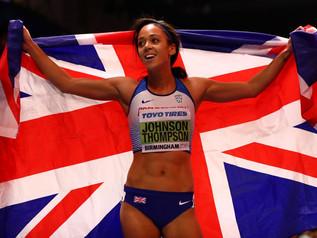 Katarina JOHNSON-THOMPSON (GBR), championne du monde en salle 2018 !
