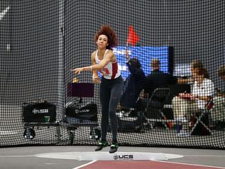 Taliyah BROOKS (USA) passe en tête des bilans du pentathlon avec 4 395 points réussis à Fayetteville