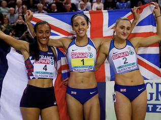 Katarina JOHNSON-THOMPSON (GBR) championne d'Europe avec 4 983 points !!