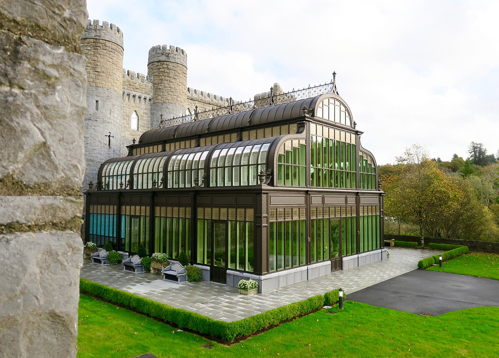 Spa conservatory at Ashford Castle