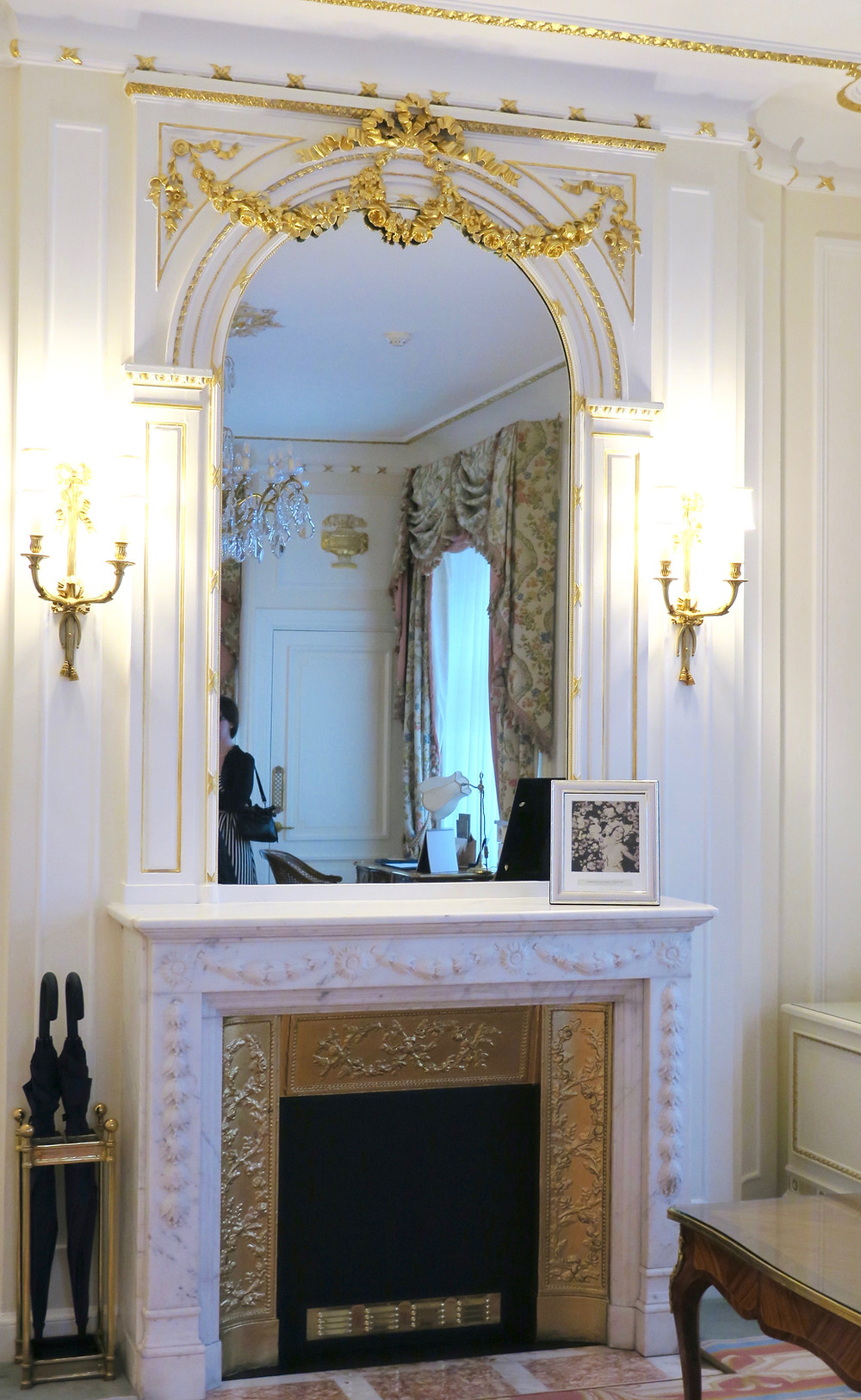 Marble & Gilt Fireplace, The Ritz London