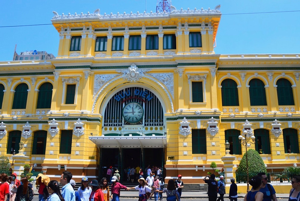 Central Post Office, Saigon, Vietnam