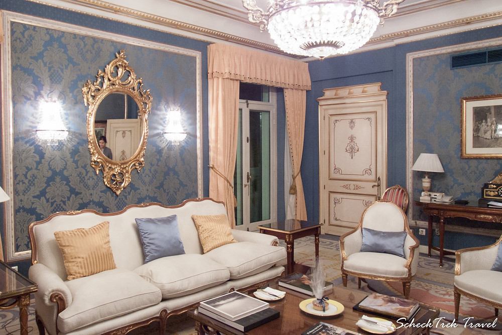 The Royal Suite at Hotel Ritz Madrid