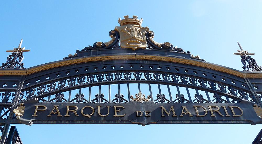 Retiro Park Gate, Madrid