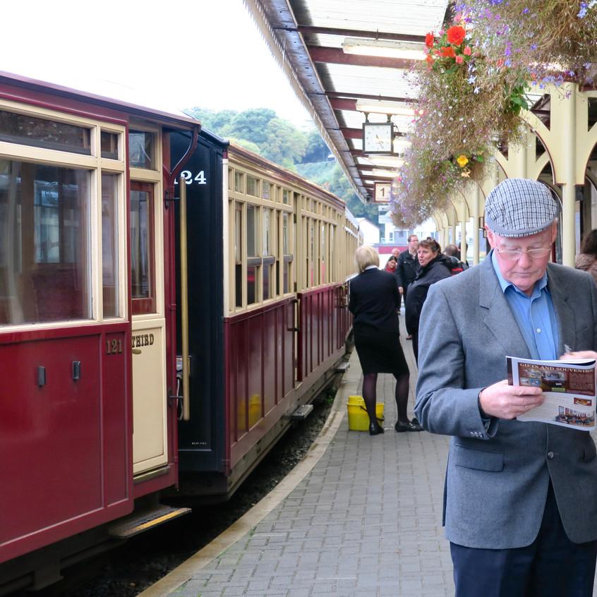 Steam Train, Wales