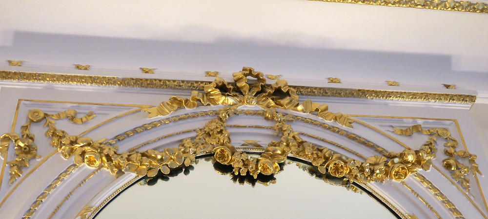 Gilt Trim in Guest Room, The Ritz London
