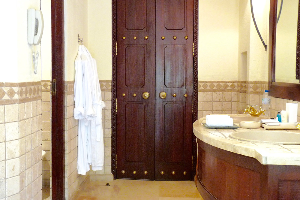 Bathroom at Al Maha Desert Resort in Dubai, UAE