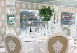 Uniworld's River Beatrice Restaurant