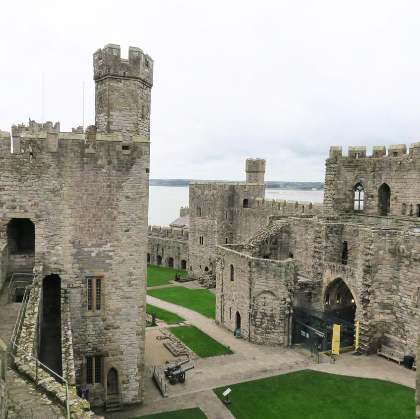Caernarvan Castle, Wales