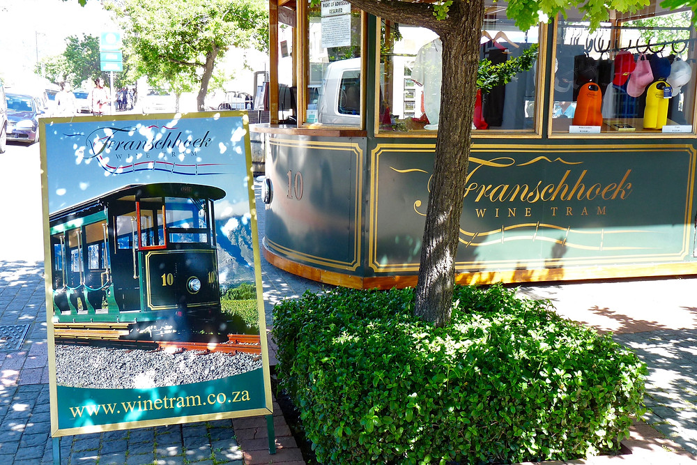 The Franschhoek Wine Tram, South Africa
