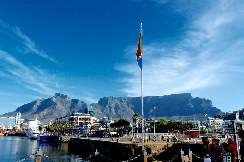 Table Mountain and the Cape Town Waterfront