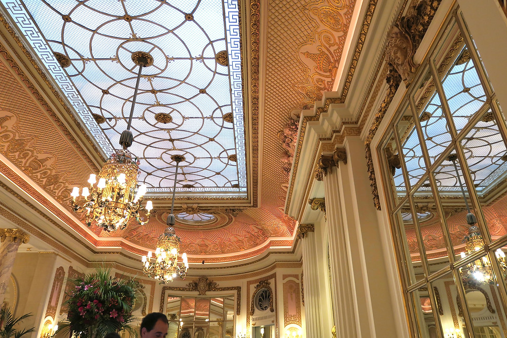Ceiling of the Palm Court, The Ritz London