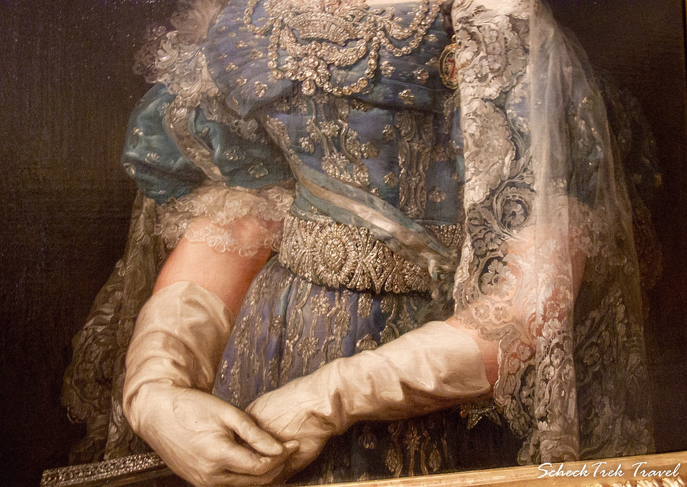 "Vicente López portrait: ""María Christina de Borbon, Queen of Spain."""