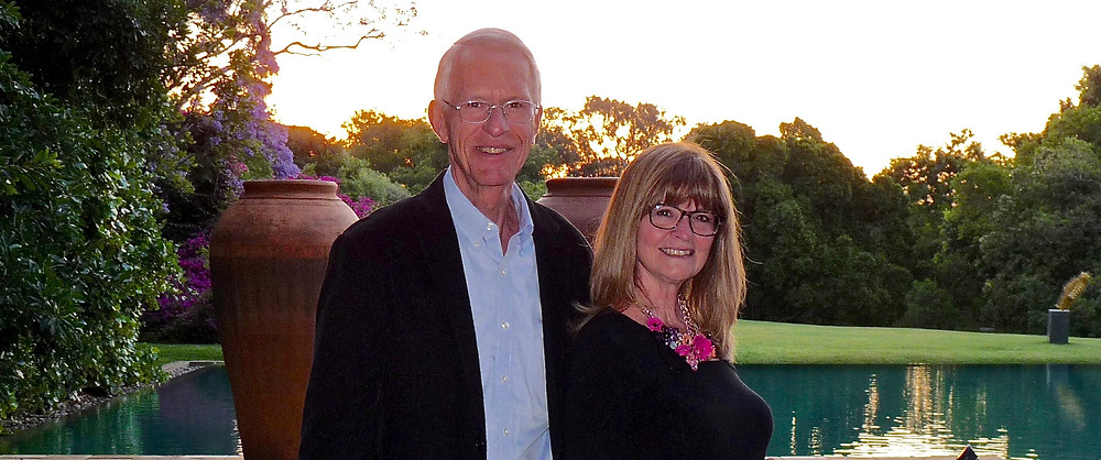Al & Vicki Scheck at the Saxon in Johannesburg