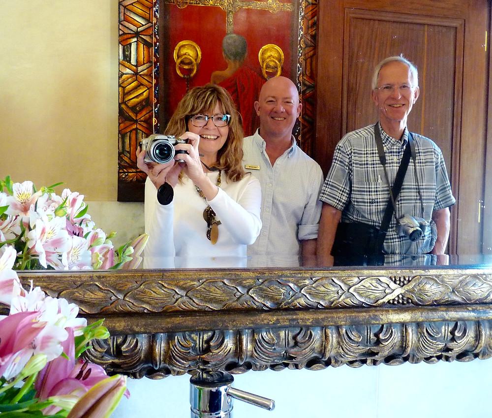 Vicki Scheck, Andrew Rosettenstein & Al Scheck