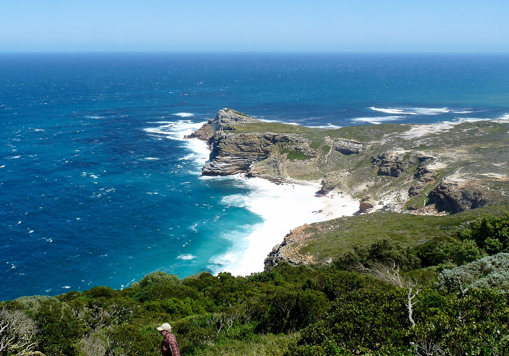 Beautiful Cape Point in South Africa