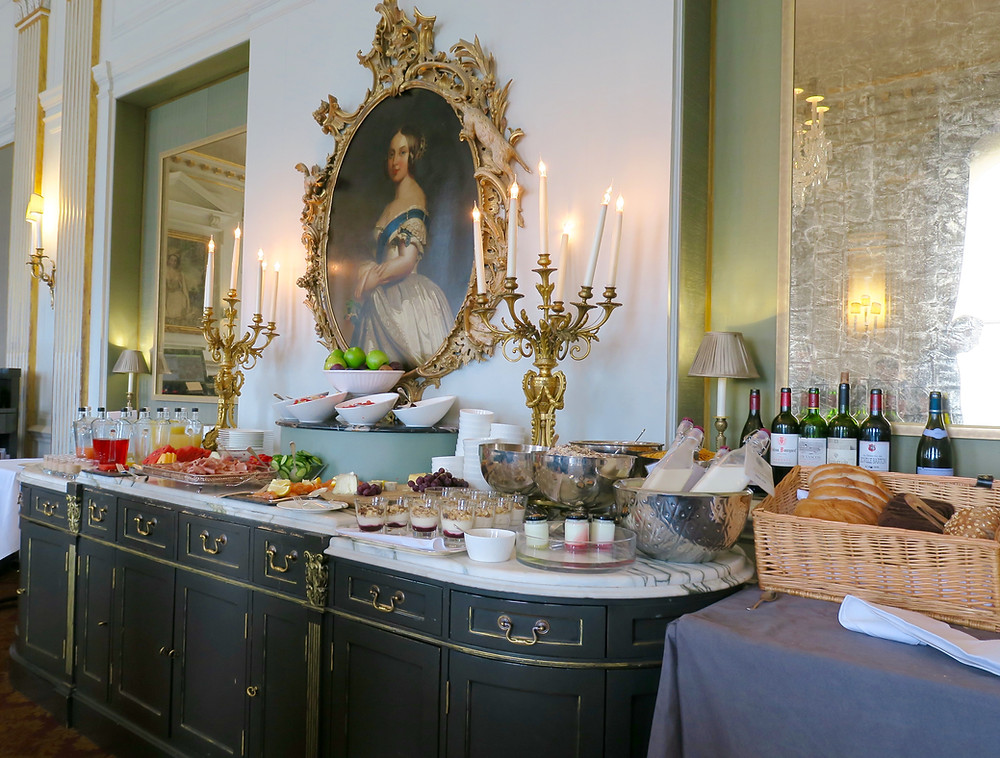 Breakfast at Cliveden House