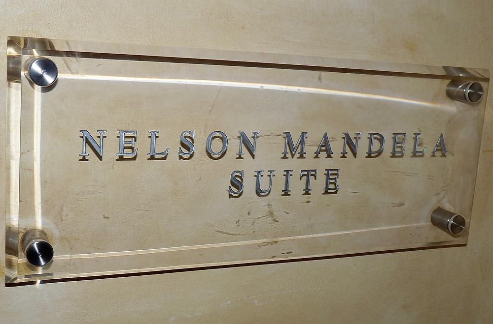 Nelson Mandela Suite at the Saxon, Johannesburg