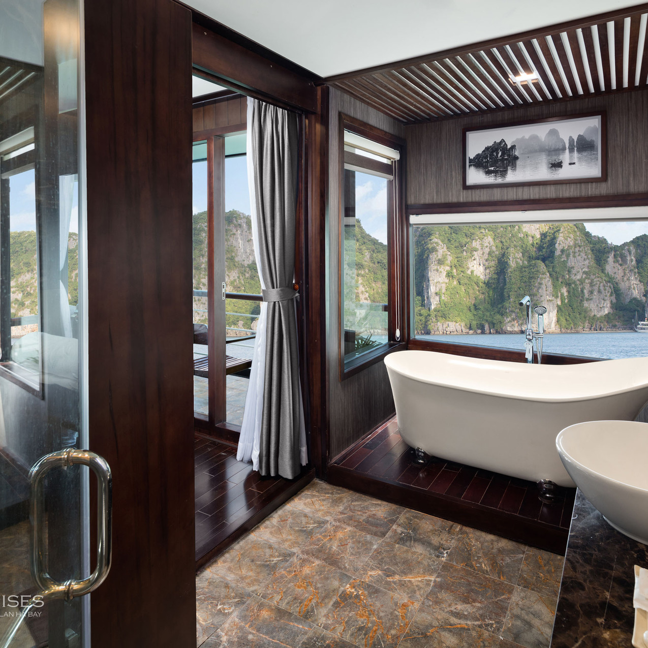 Orchid Cruise Bathroom