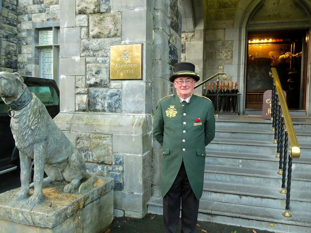 Doorman at Ashford Castle