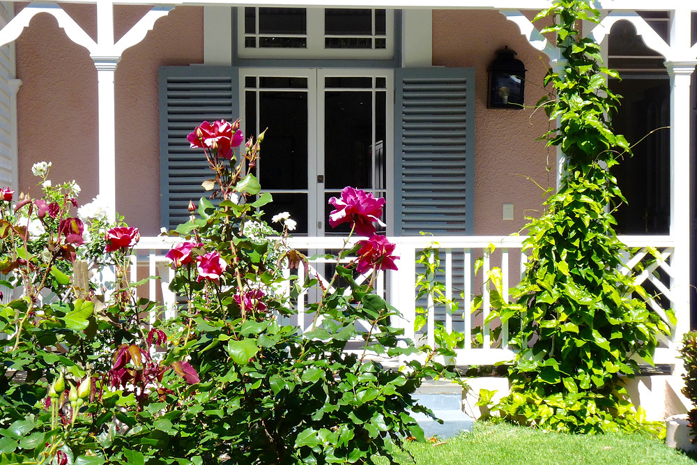 A pink Garden Cottage Suite at the Belmond Mount Nelson, Cape Town