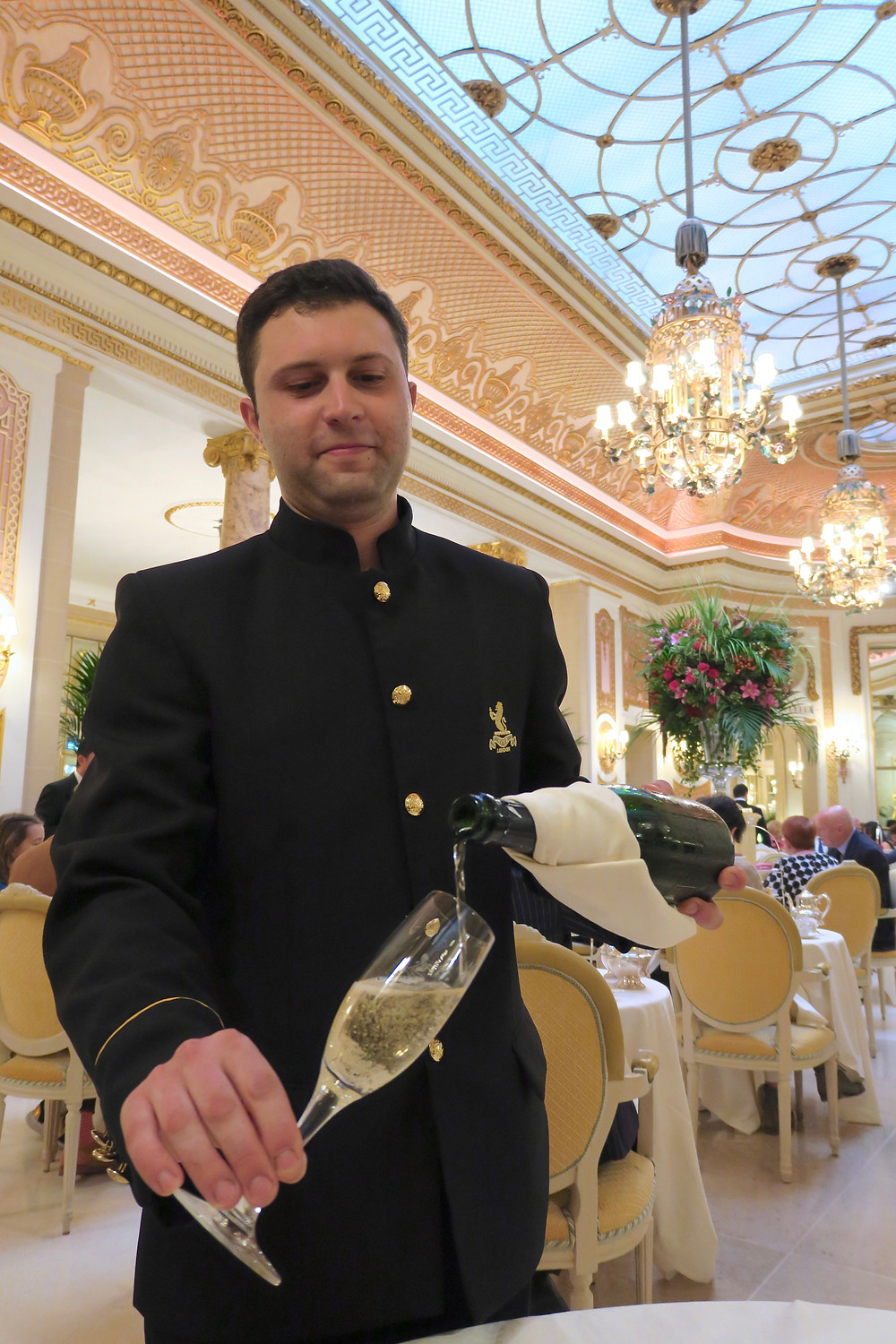 Champagne Tea at The Ritz London