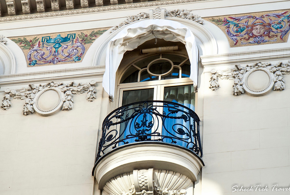 Stunning architecture in Madrid