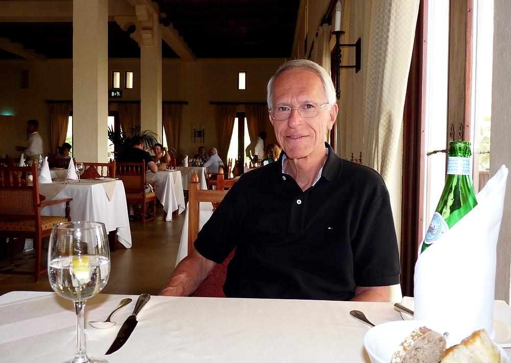 Al Scheck at Al Diwaan Restaurant, Al Maha, Dubai