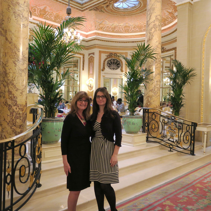 Ashley & Me: Tea at The Ritz London