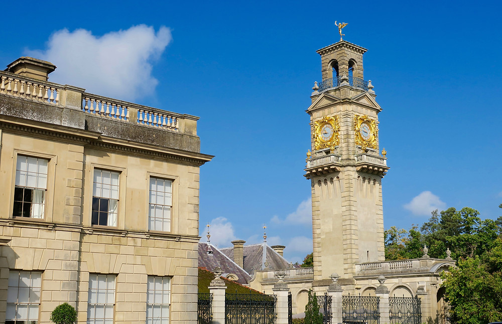 Cliveden's 19th century clock tower