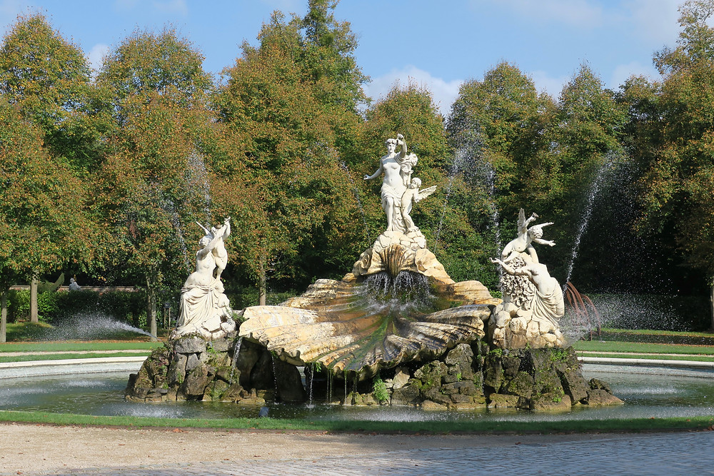 The Fountain of Love at Cliveden House, England