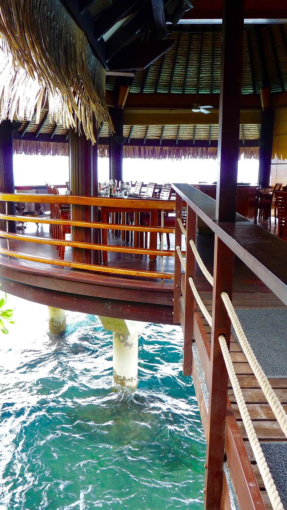 Le Lotus Restaurant, Tahiti InterContinental