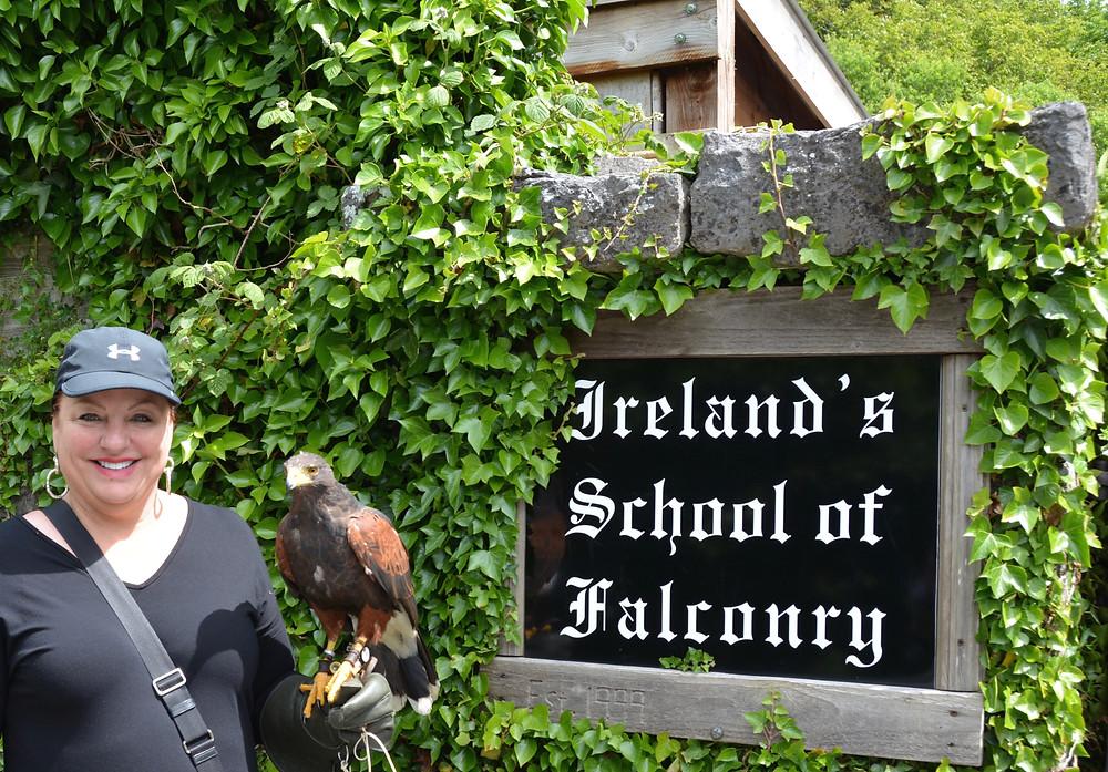 Ireland's School of Falconry, Ashford Castle