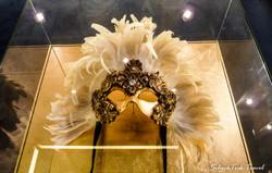 Venetian mask in Marina's theater