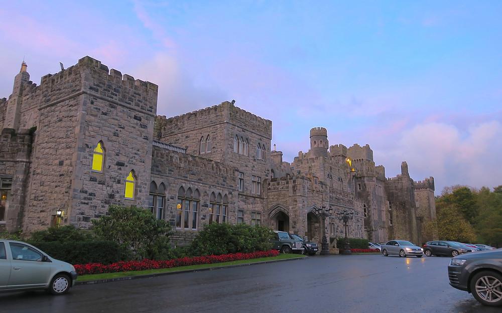 Dawn at Ashford Castle