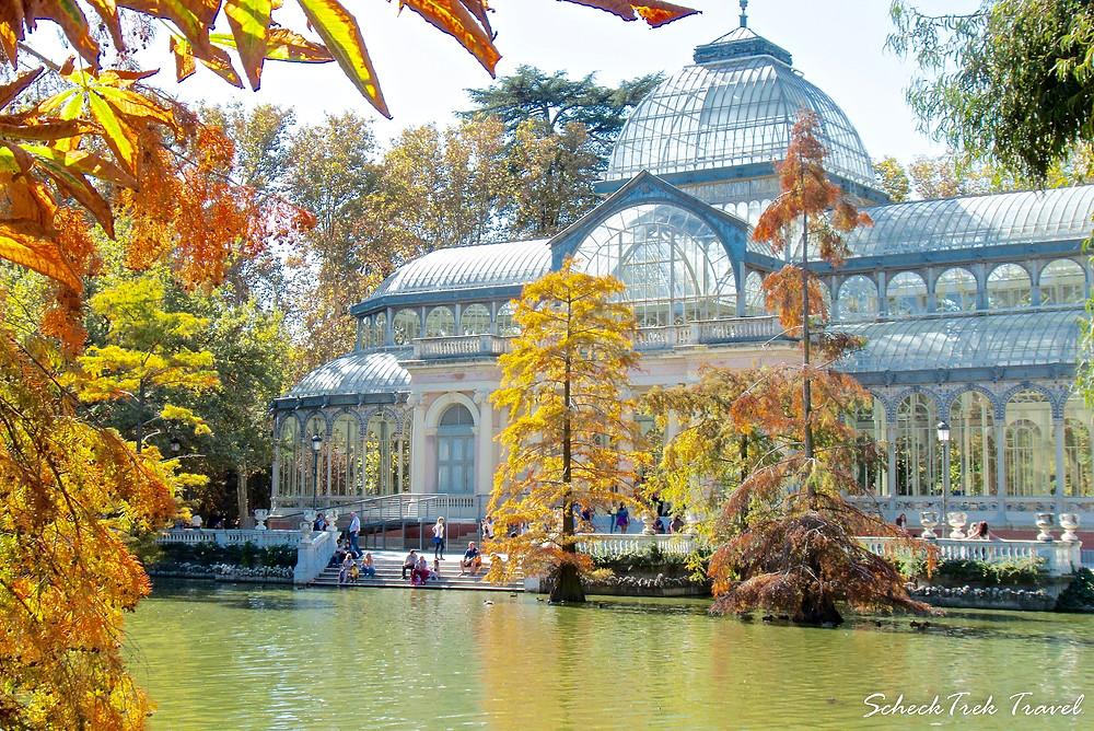 Crystal Palace, Retiro Park, Madrid