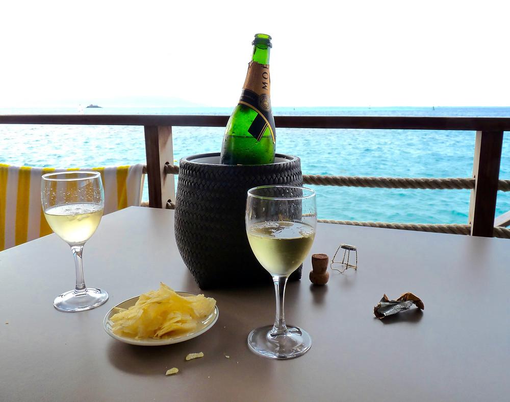 Moet Champagne at Tahiti InterContinental