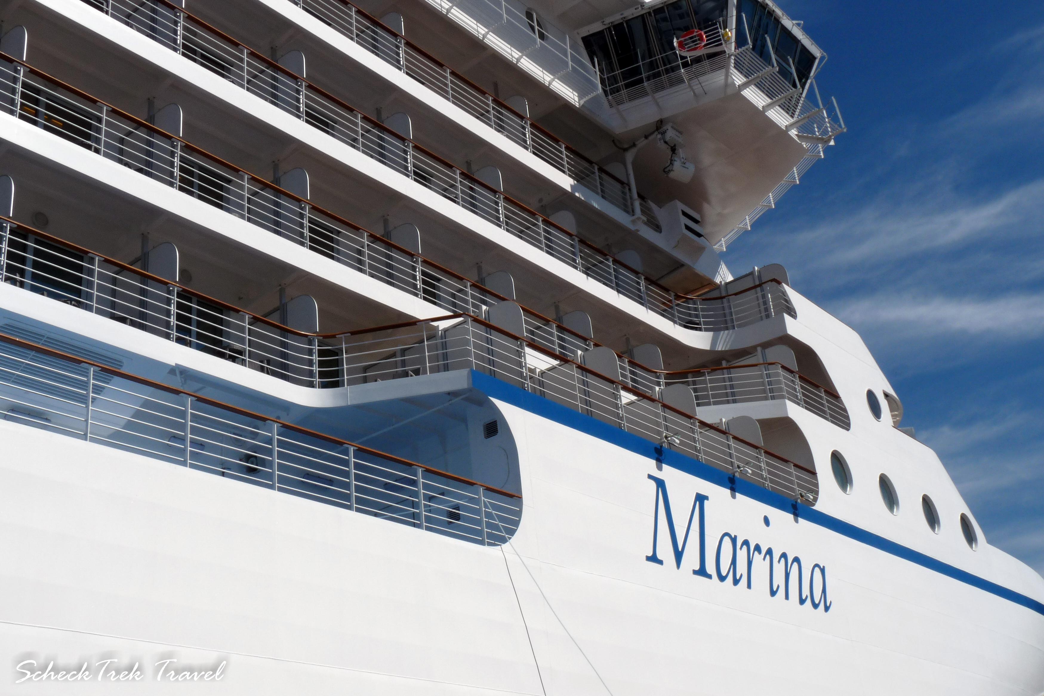 Oceania's ship, Marina