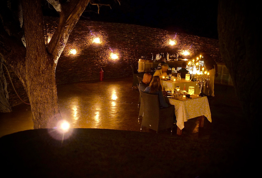 Dinner in the #boma at #JamalaMadikwe