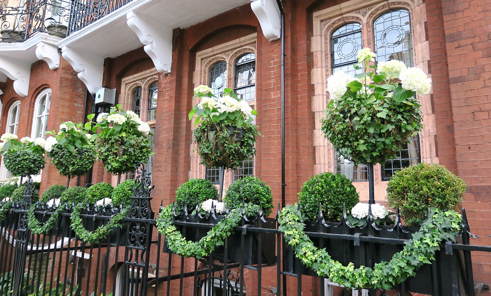 Topiaries at The Milestone Hotel, London