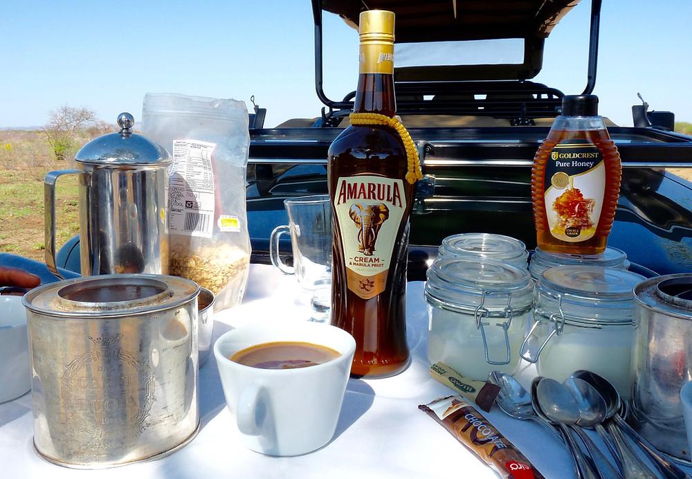#JamalaMadikwe coffee stop on game drive