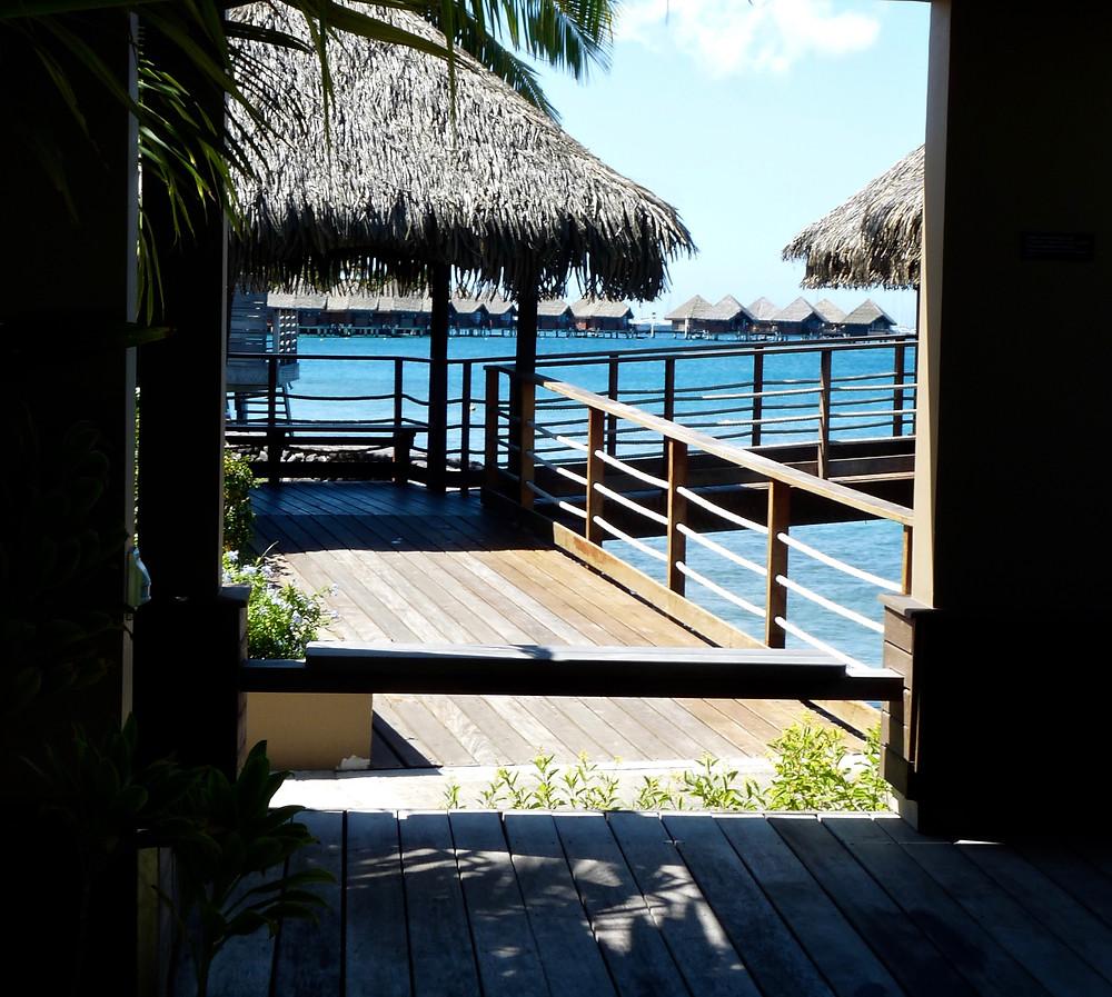 Overwater Bungalows at the Tahiti InterContinental