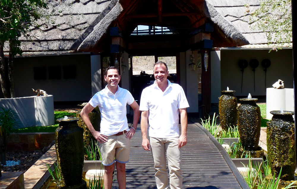 #RodneySteyn and #Nico Verster at #JamalaMadikwe