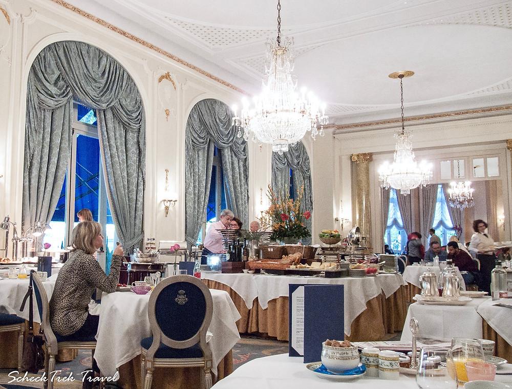 """""""Breakfast room"""" at Ritz Madrid"""