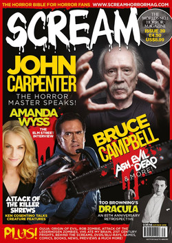 We made the cover of Scream!