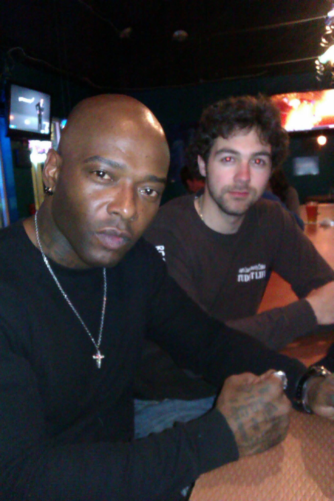 Working on a film with Treach