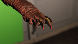 Shrewbert's hand