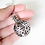 Thumbnail: Aromatherapy Essential Oil Diffuser Silver Ball Necklace