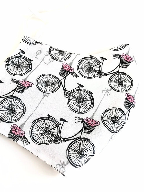 French Bicycle Face Mask