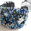 Thumbnail: Haute Couture Embroidered Bridal Cuff 1.5 Inch Bracelet